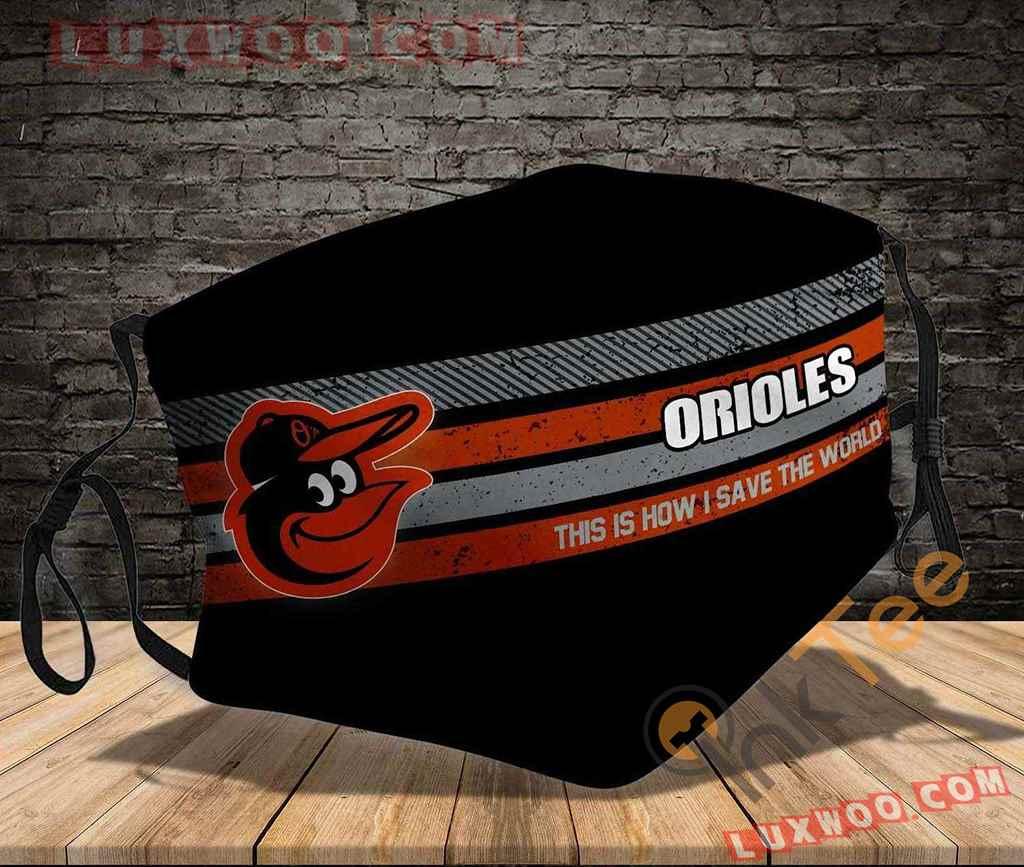Mlb Baltimore Orioles 3d Face Mask V2