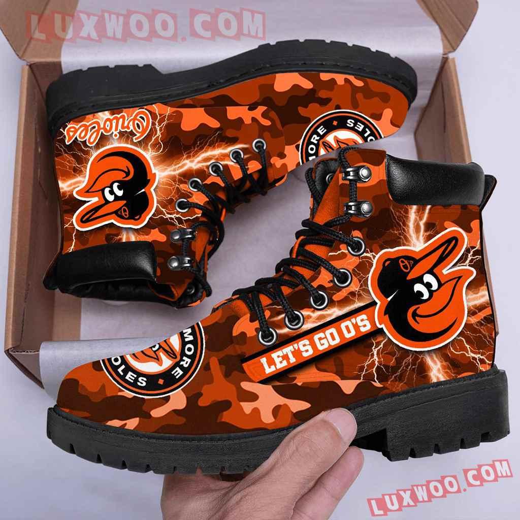 Mlb Baltimore Orioles Season Boots Shoes V1