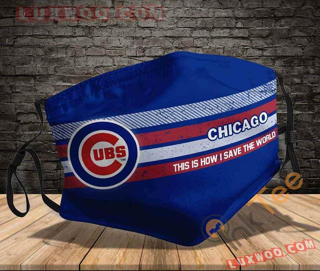 Mlb Chicago Cubs 3d Face Mask V1
