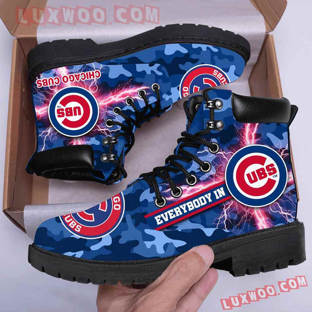 Mlb Chicago Cubs Season Boots Shoes V1