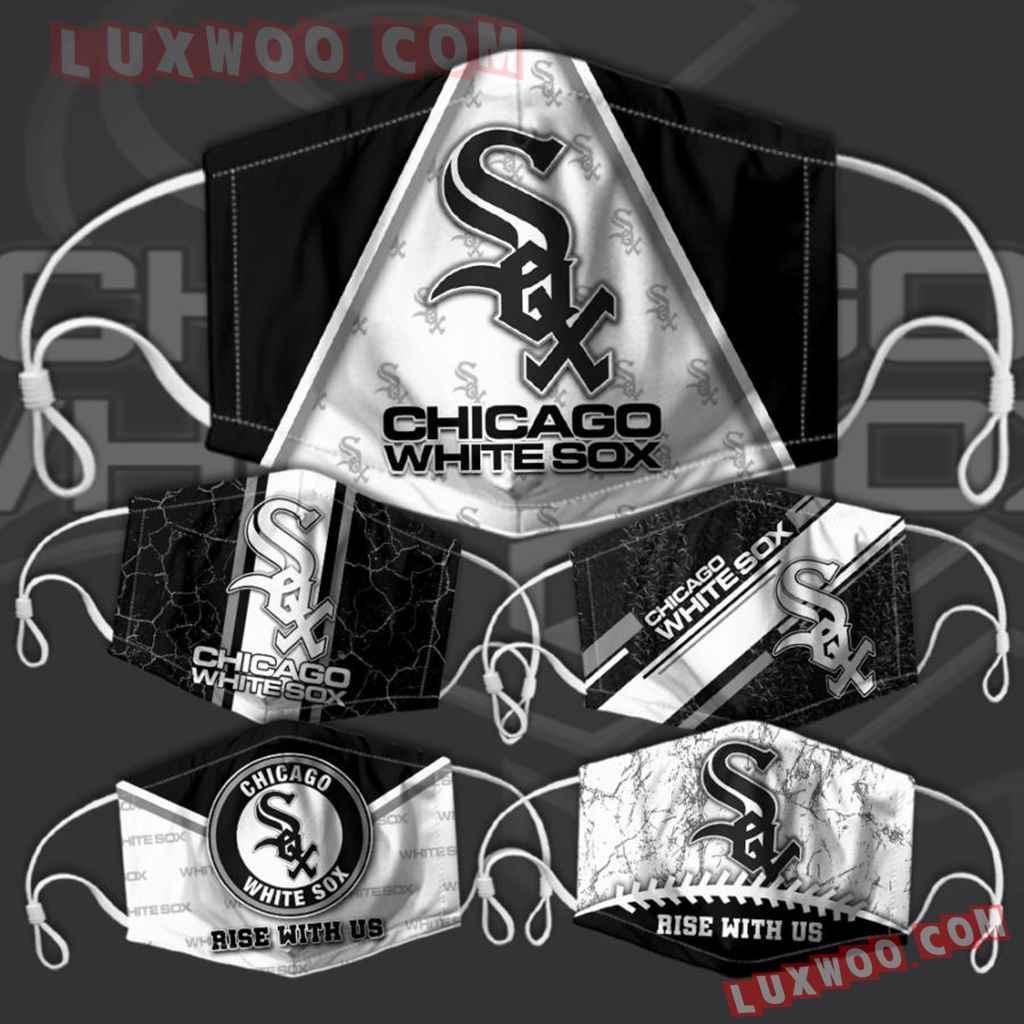 Mlb Chicago White Sox 3d Face Mask Combo 5 V1