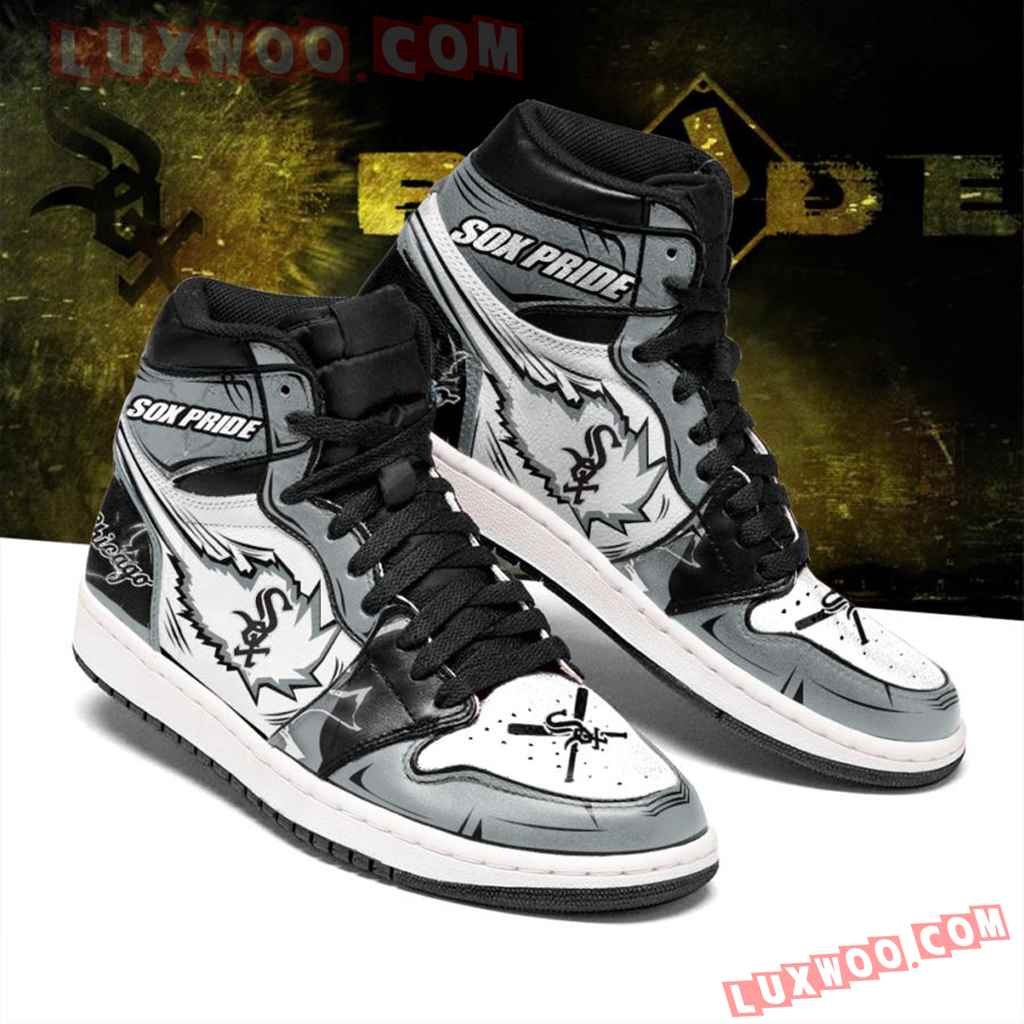Mlb Chicago White Sox Air Jordan 1 Custom Shoes Sneaker V1