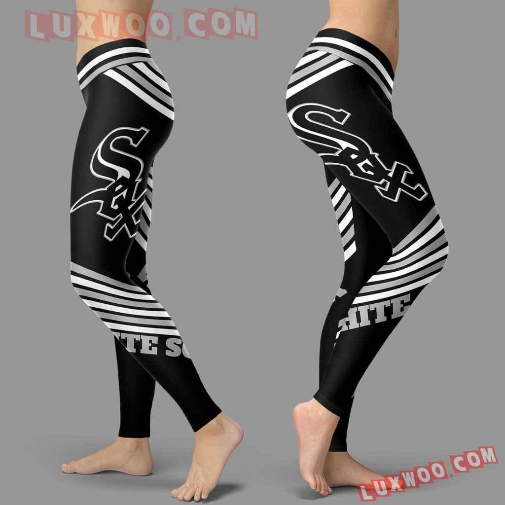 Mlb Chicago White Sox Leggings 3d Custom Print Leggings Sport V2