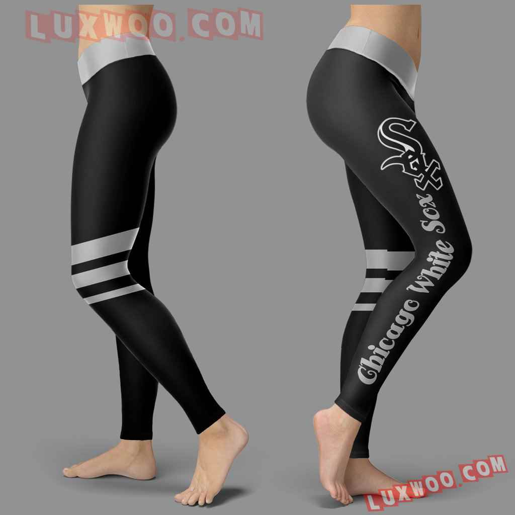 Mlb Chicago White Sox Leggings 3d Custom Print Leggings Sport V3
