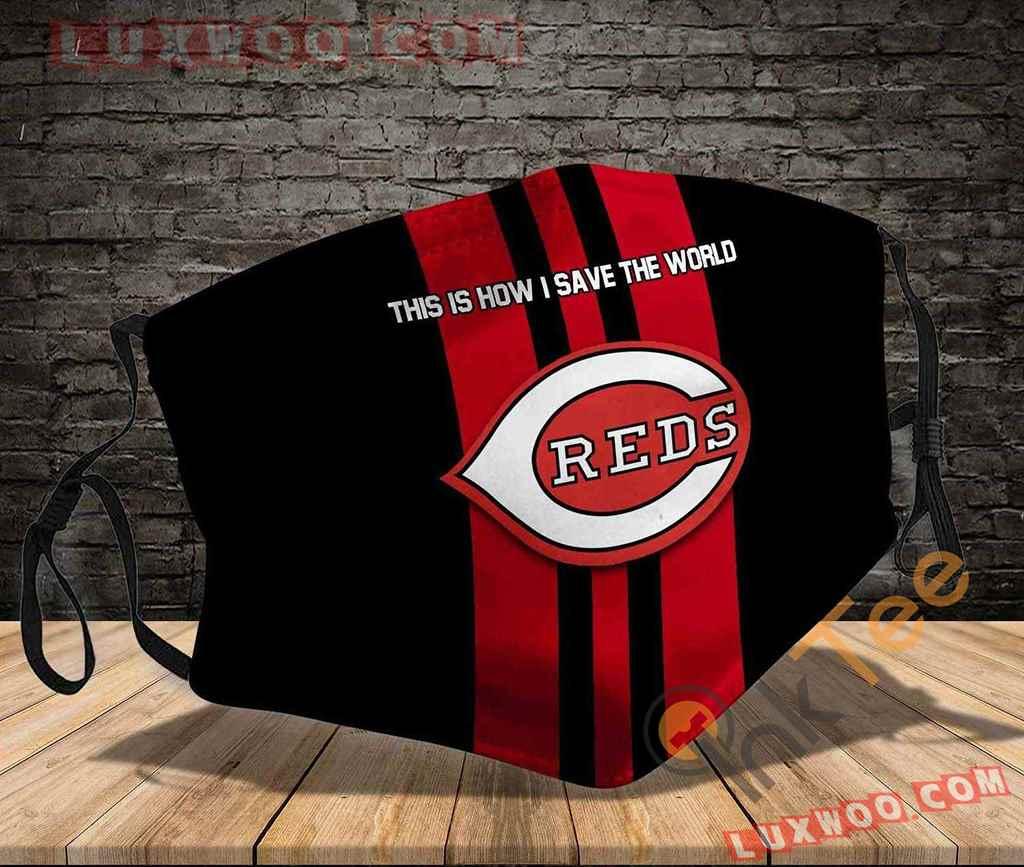 Mlb Cincinnati Reds 3d Face Mask V3