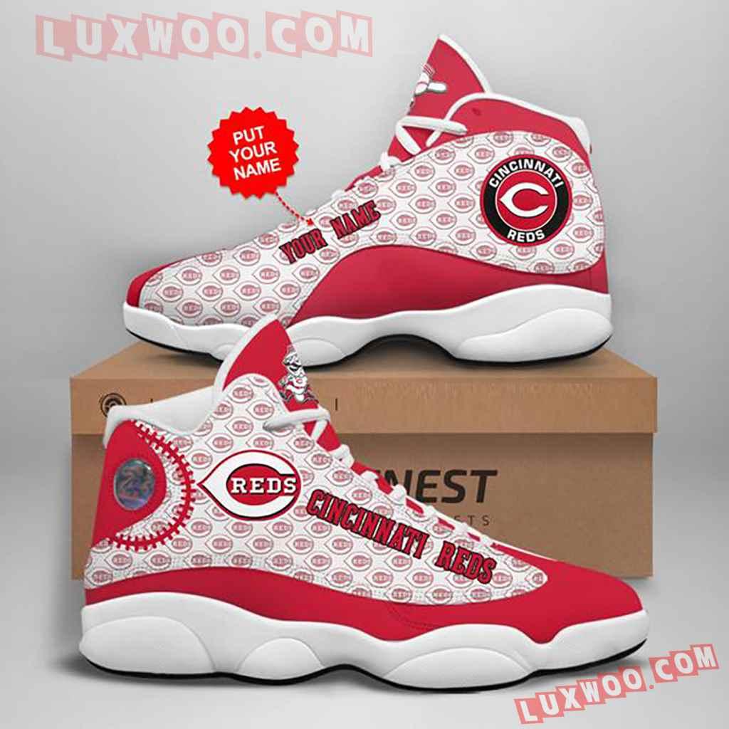 Mlb Cincinnati Reds Air Jordan 13 Custom Shoes Sneaker V1
