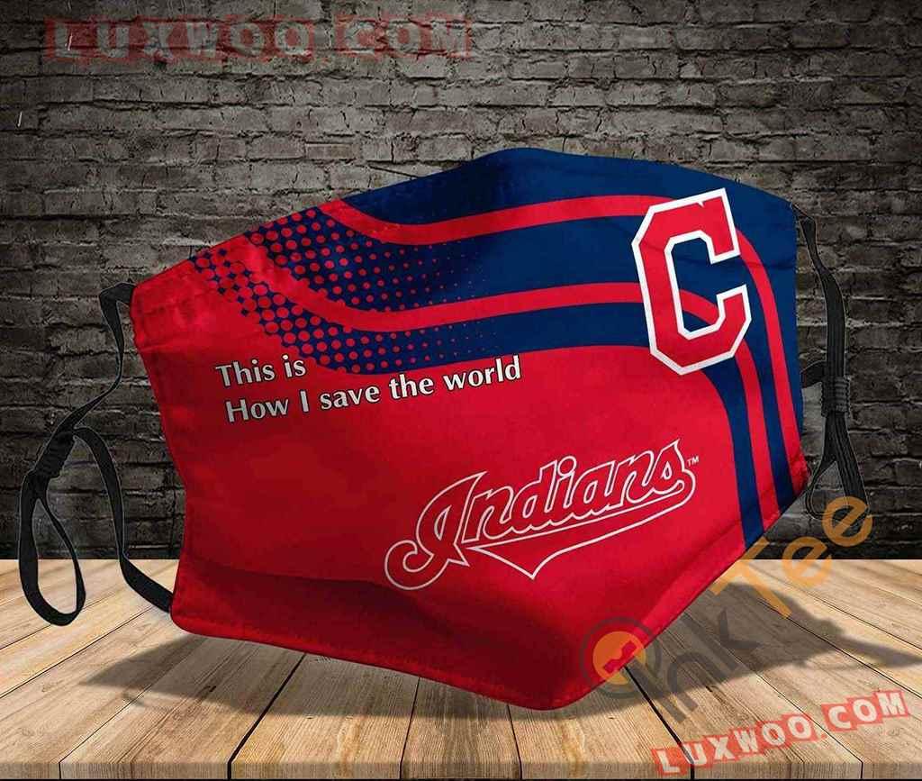 Mlb Cleveland Indians 3d Face Mask V1