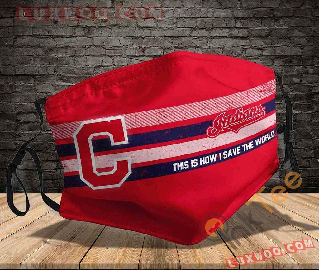 Mlb Cleveland Indians 3d Face Mask V2