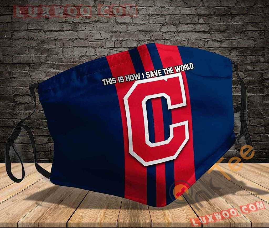Mlb Cleveland Indians 3d Face Mask V3