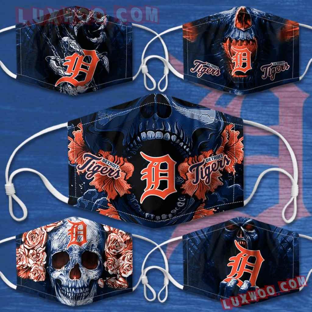 Mlb Detroit Tigers 3d Face Mask Combo 5 V1