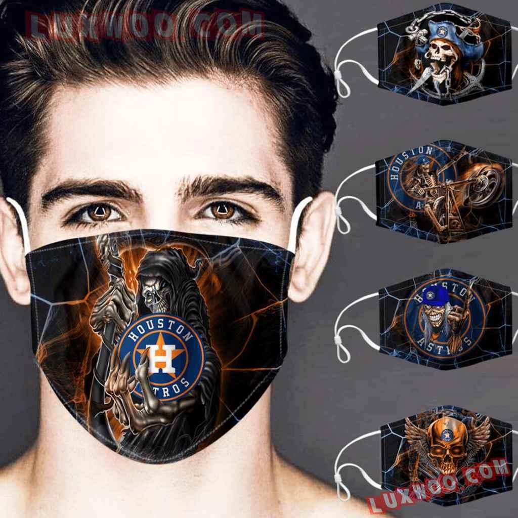 Mlb Houston Astros 3d Face Mask Combo 5 V1