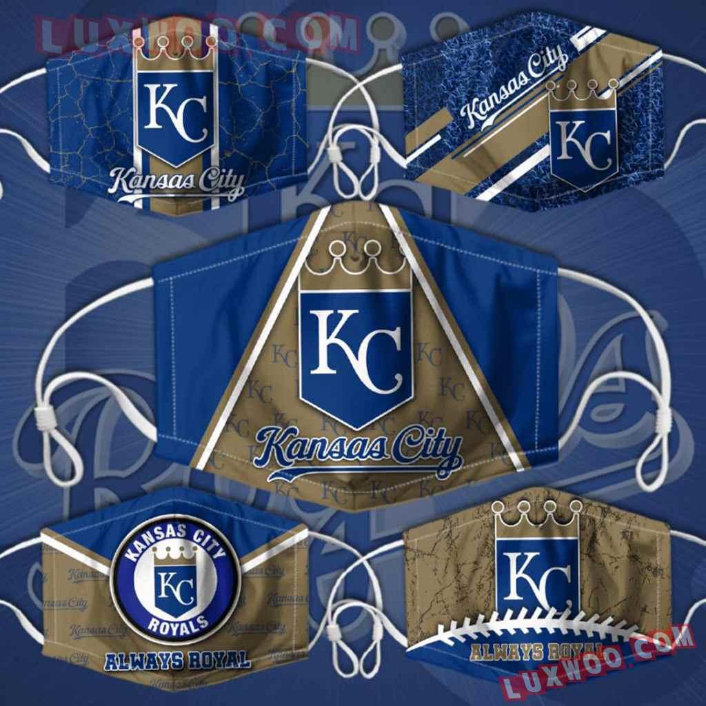 Mlb Kansas City Royals 3d Face Mask Combo 5 V1