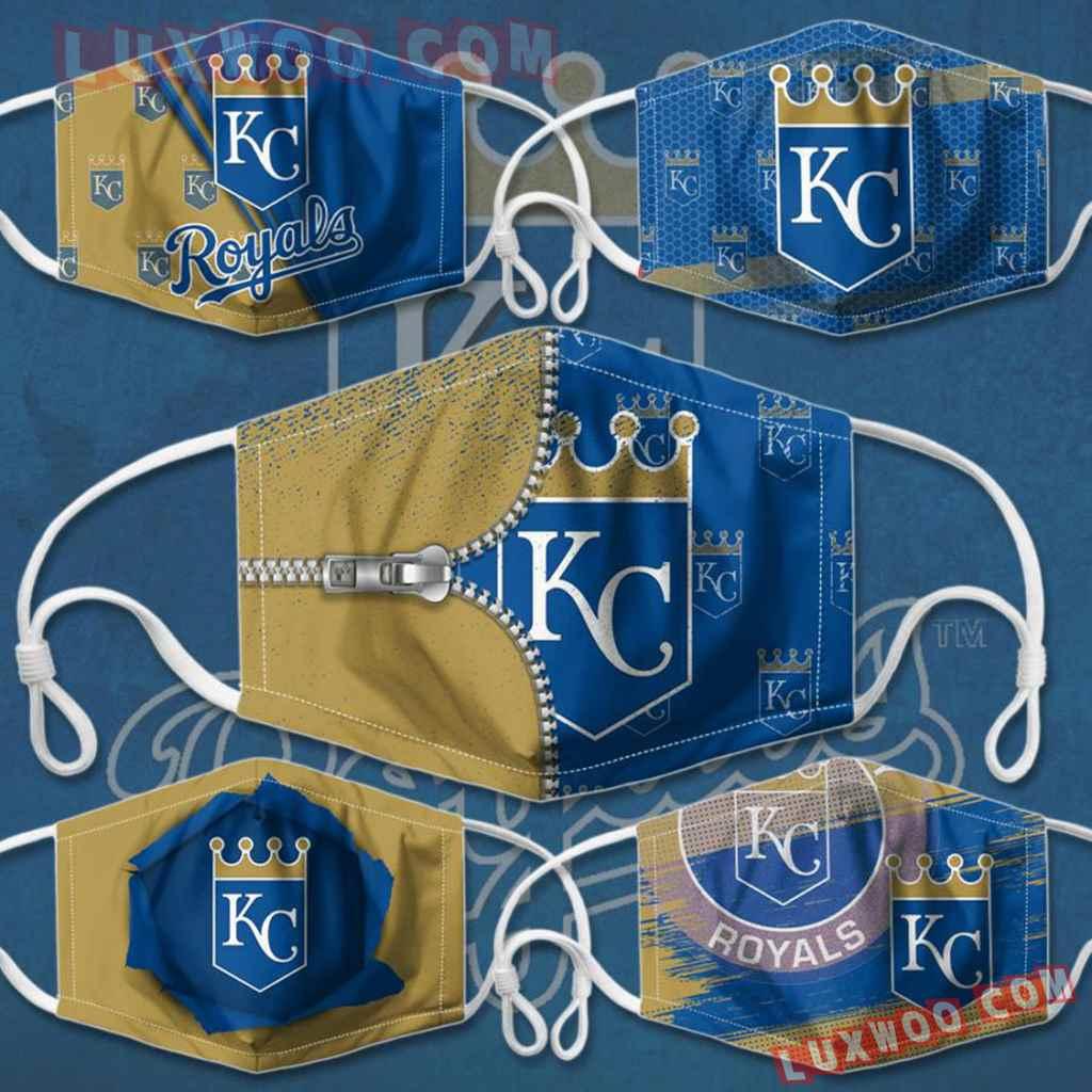 Mlb Kansas City Royals 3d Face Mask Combo 5 V2