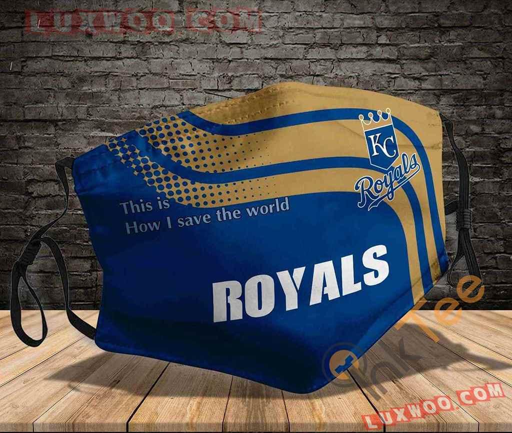 Mlb Kansas City Royals 3d Face Mask V1