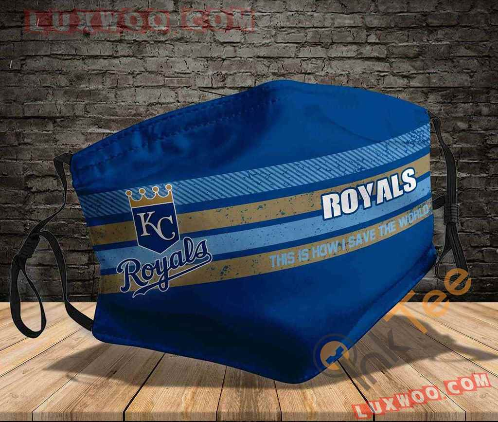 Mlb Kansas City Royals 3d Face Mask V2