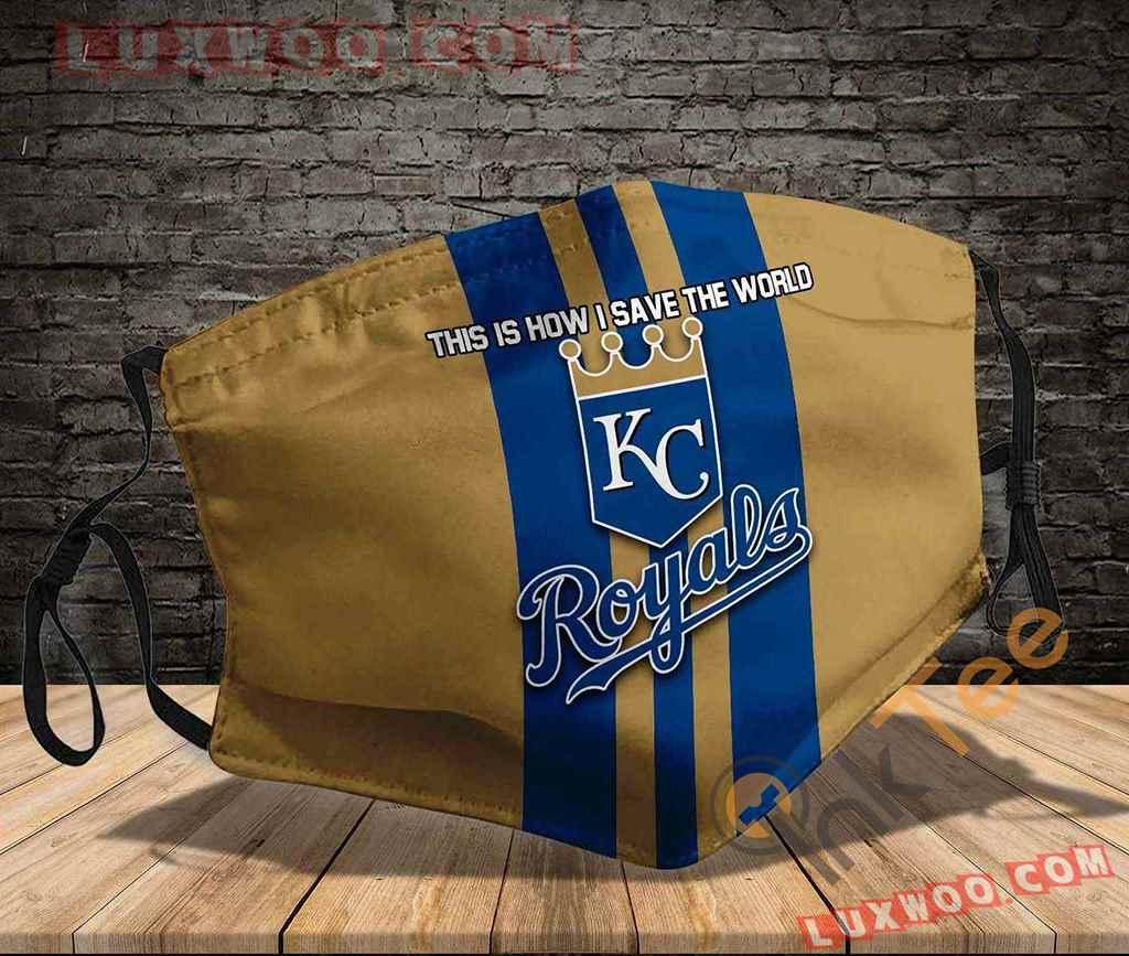 Mlb Kansas City Royals 3d Face Mask V3