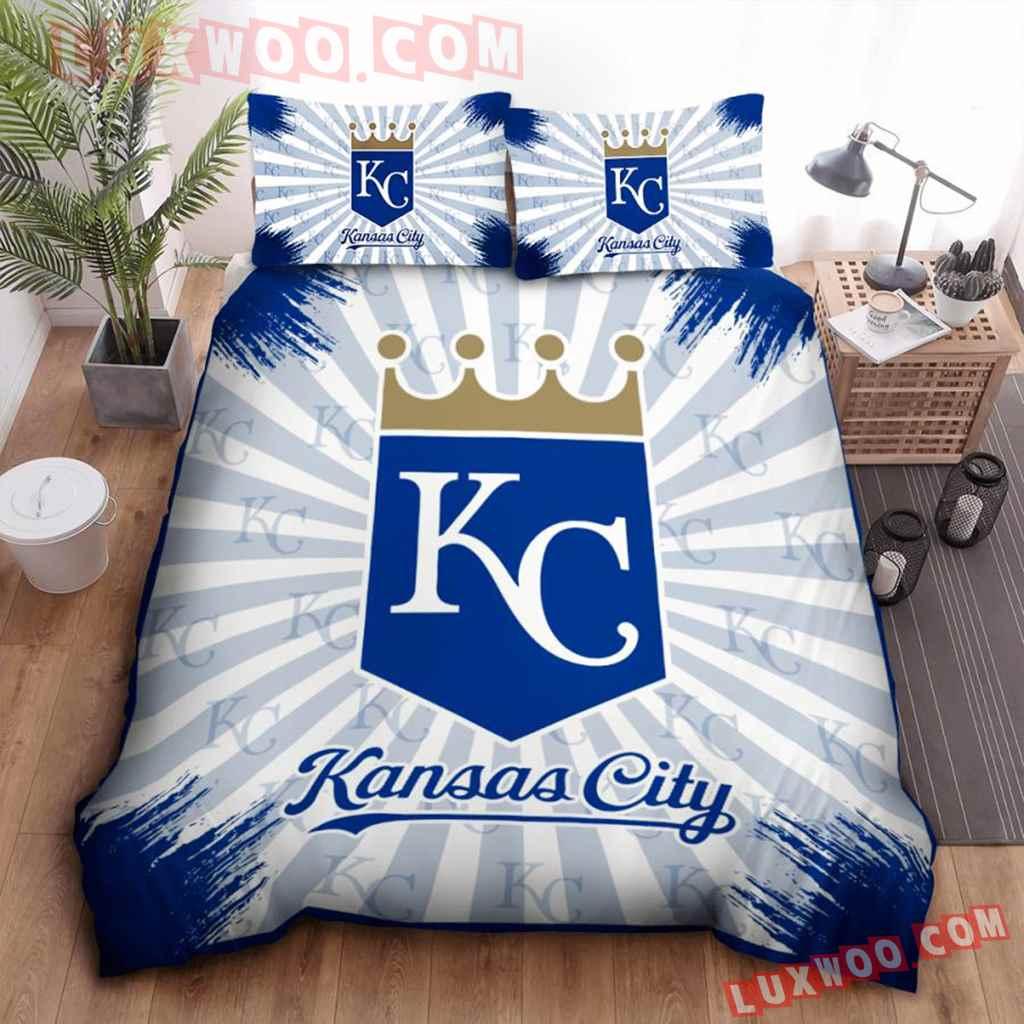 Mlb Kansas City Royals 3d Quilt Bedding Set V2