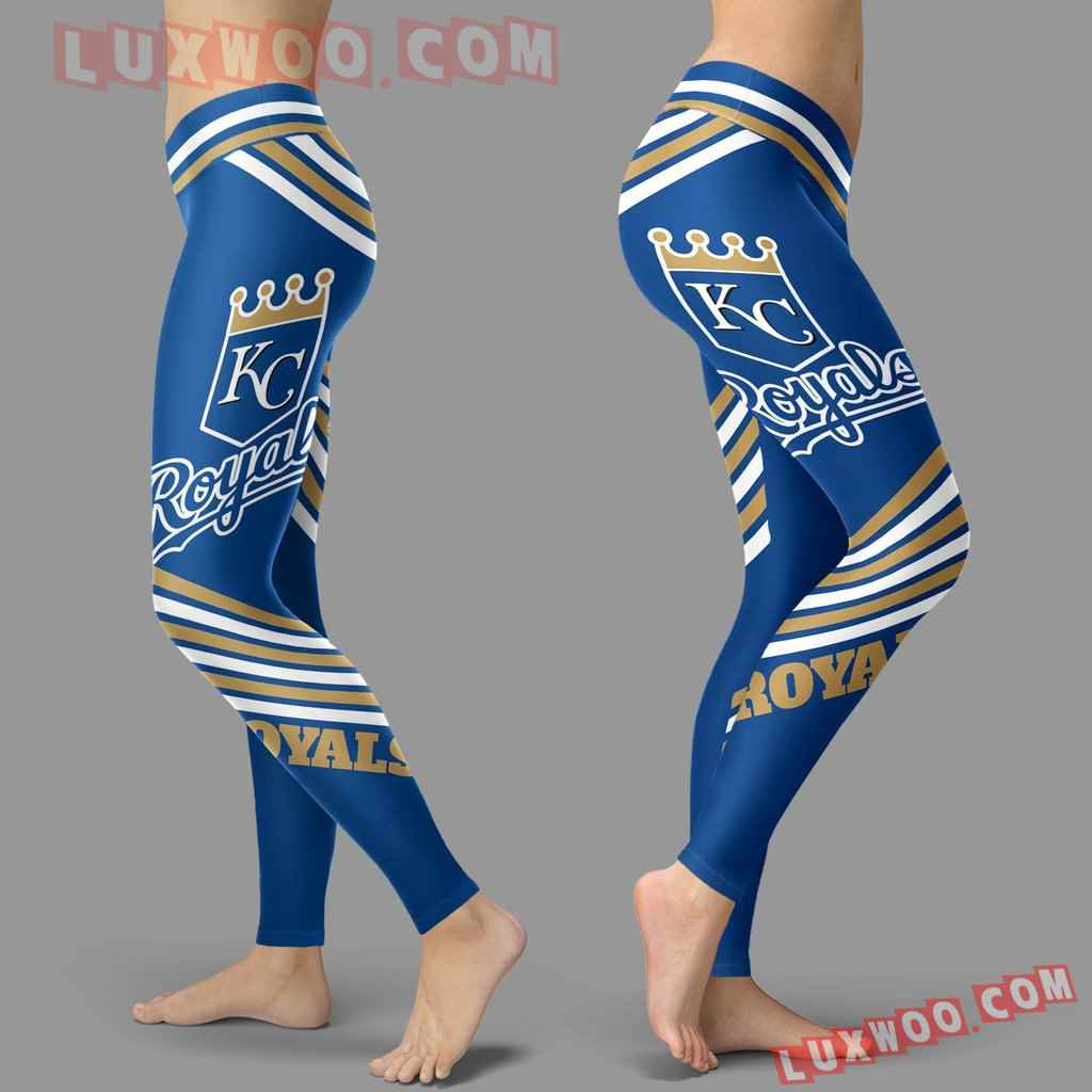 Mlb Kansas City Royals Leggings 3d Custom Print Leggings Sport V2