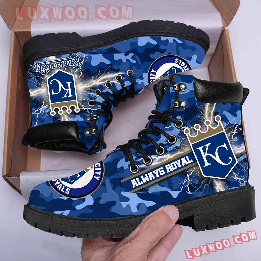 Mlb Kansas City Royals Season Boots Shoes V1