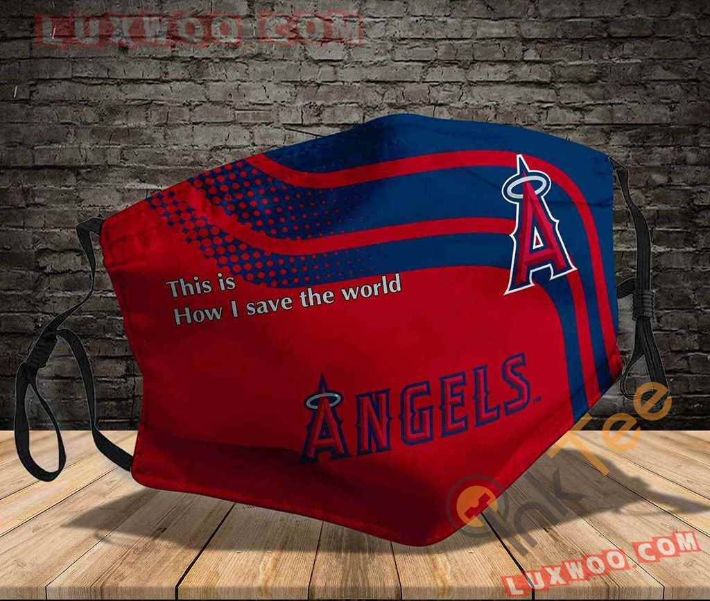 Mlb Los Angeles Angels 3d Face Mask V1