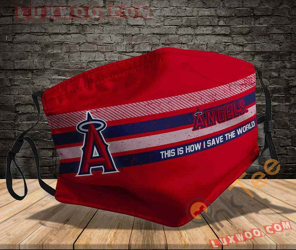 Mlb Los Angeles Angels 3d Face Mask V2