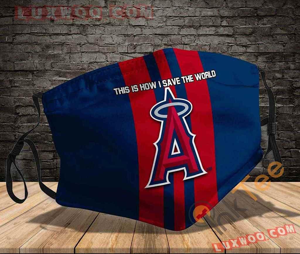 Mlb Los Angeles Angels 3d Face Mask V3