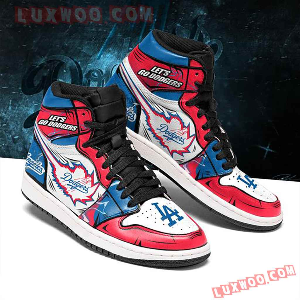 Mlb Los Angeles Dodgers Air Jordan 1 Custom Shoes Sneaker V1