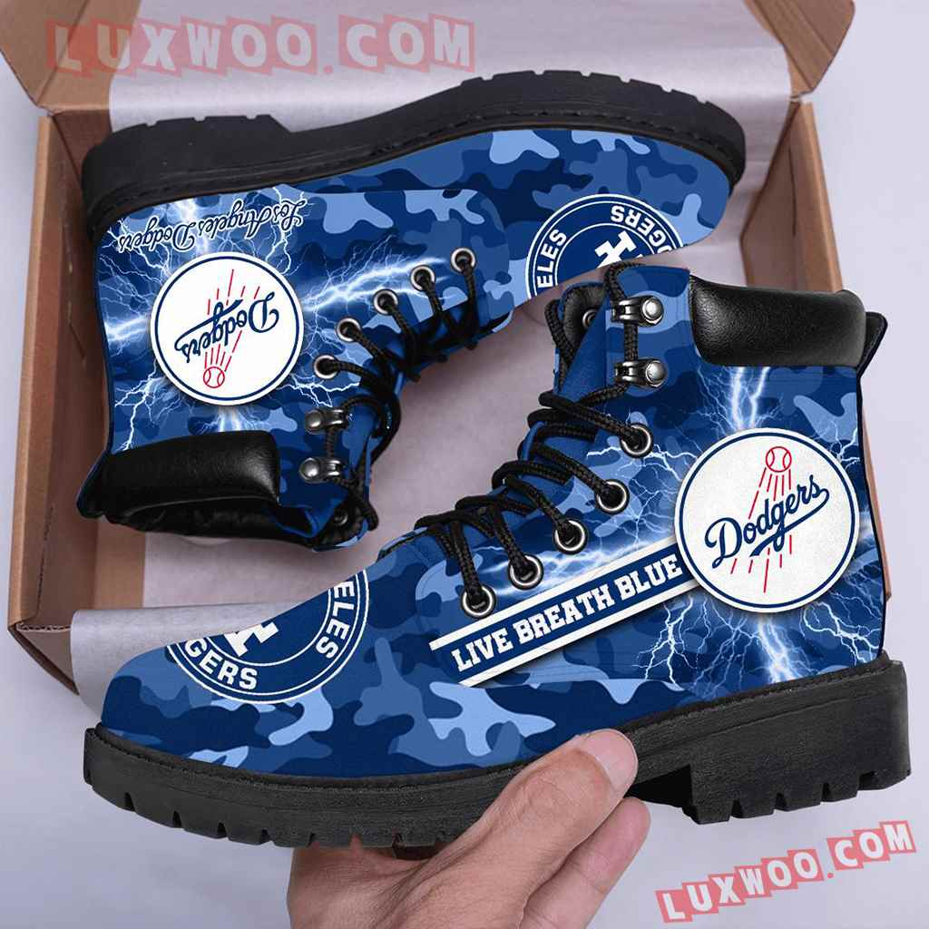 Mlb Los Angeles Dodgers Season Boots Shoes V1