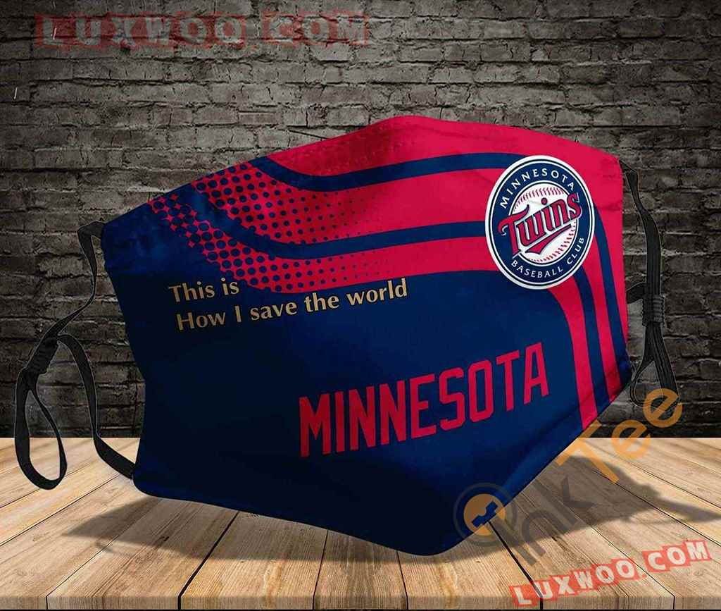 Mlb Minnesota Twins 3d Face Mask V1