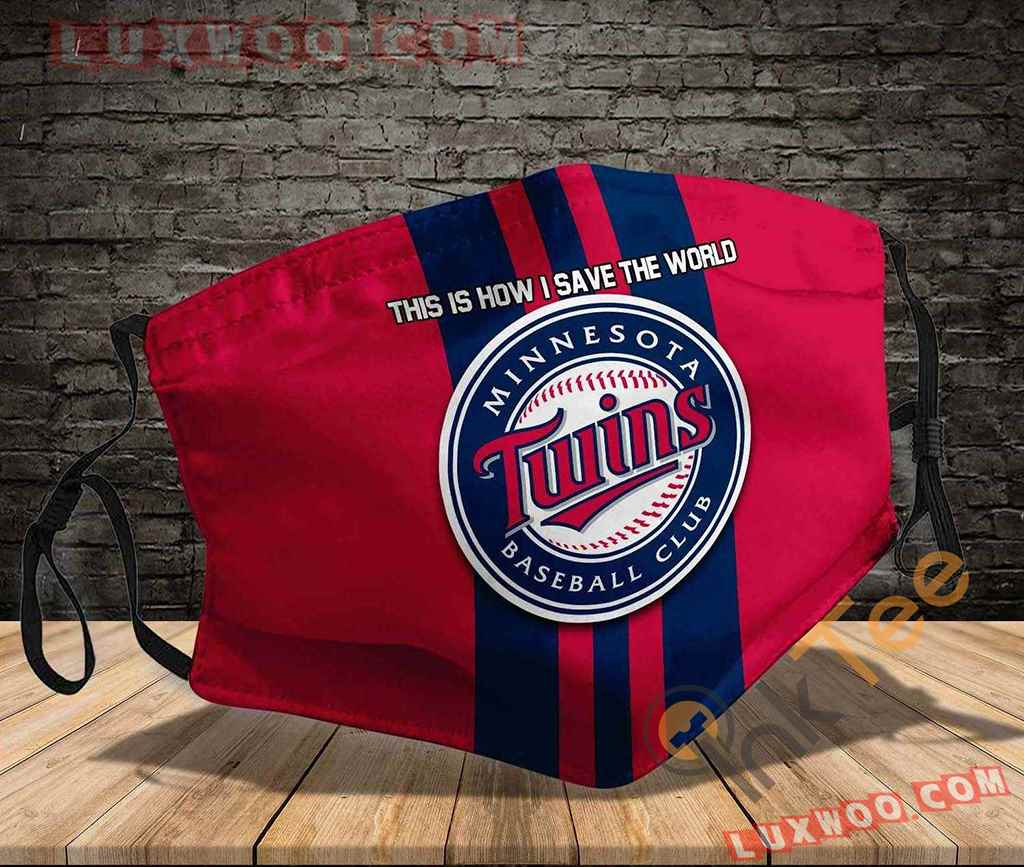 Mlb Minnesota Twins 3d Face Mask V3