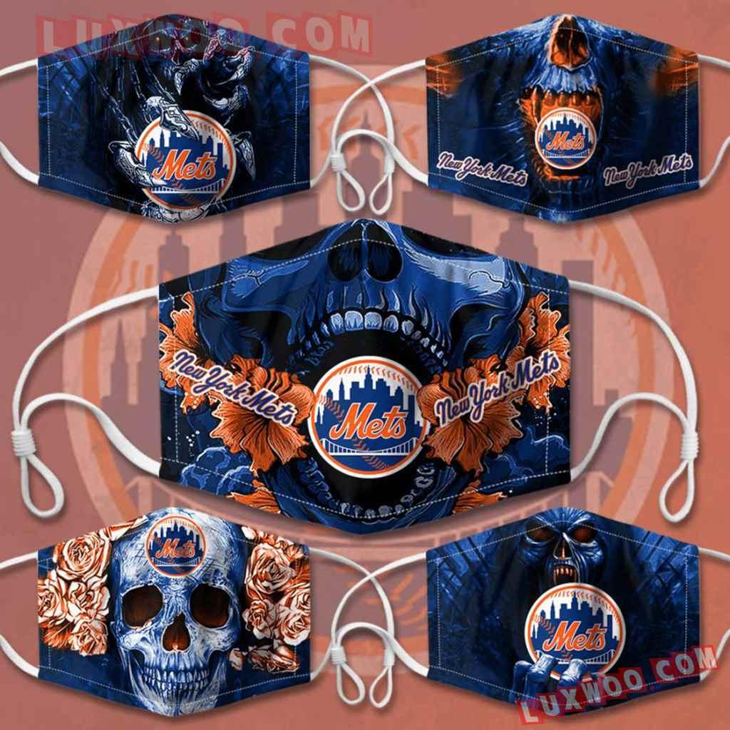 Mlb New York Mets 3d Face Mask Combo 5 V3