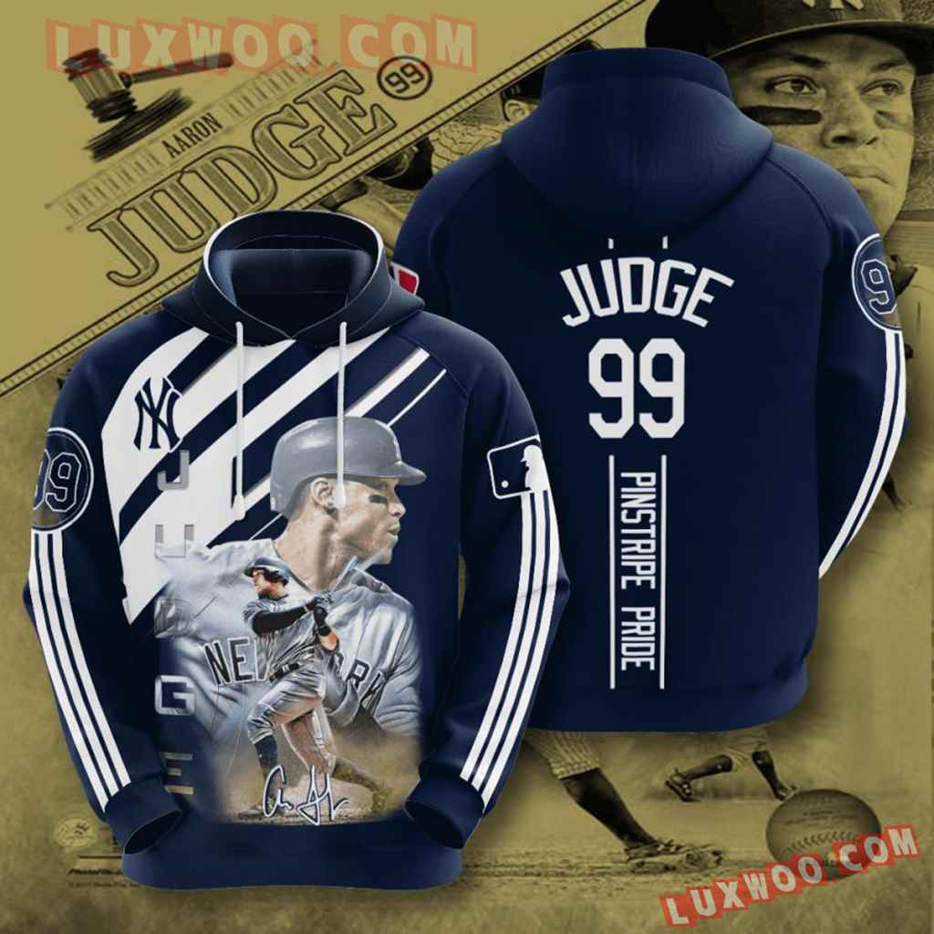 Mlb New York Yankees 3d Hoodies Printed Zip Hoodies Sweatshirt Jacket V36