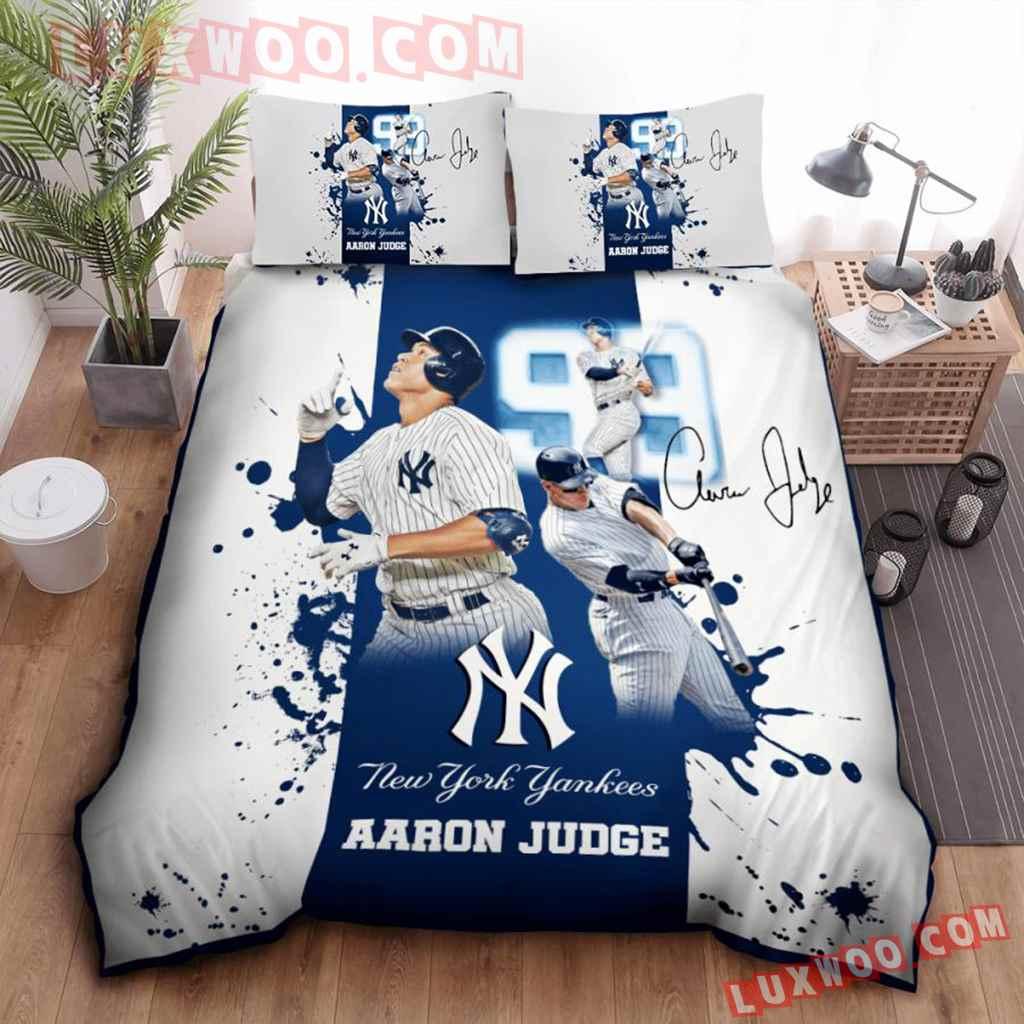Mlb New York Yankees 3d Quilt Bedding Set V2