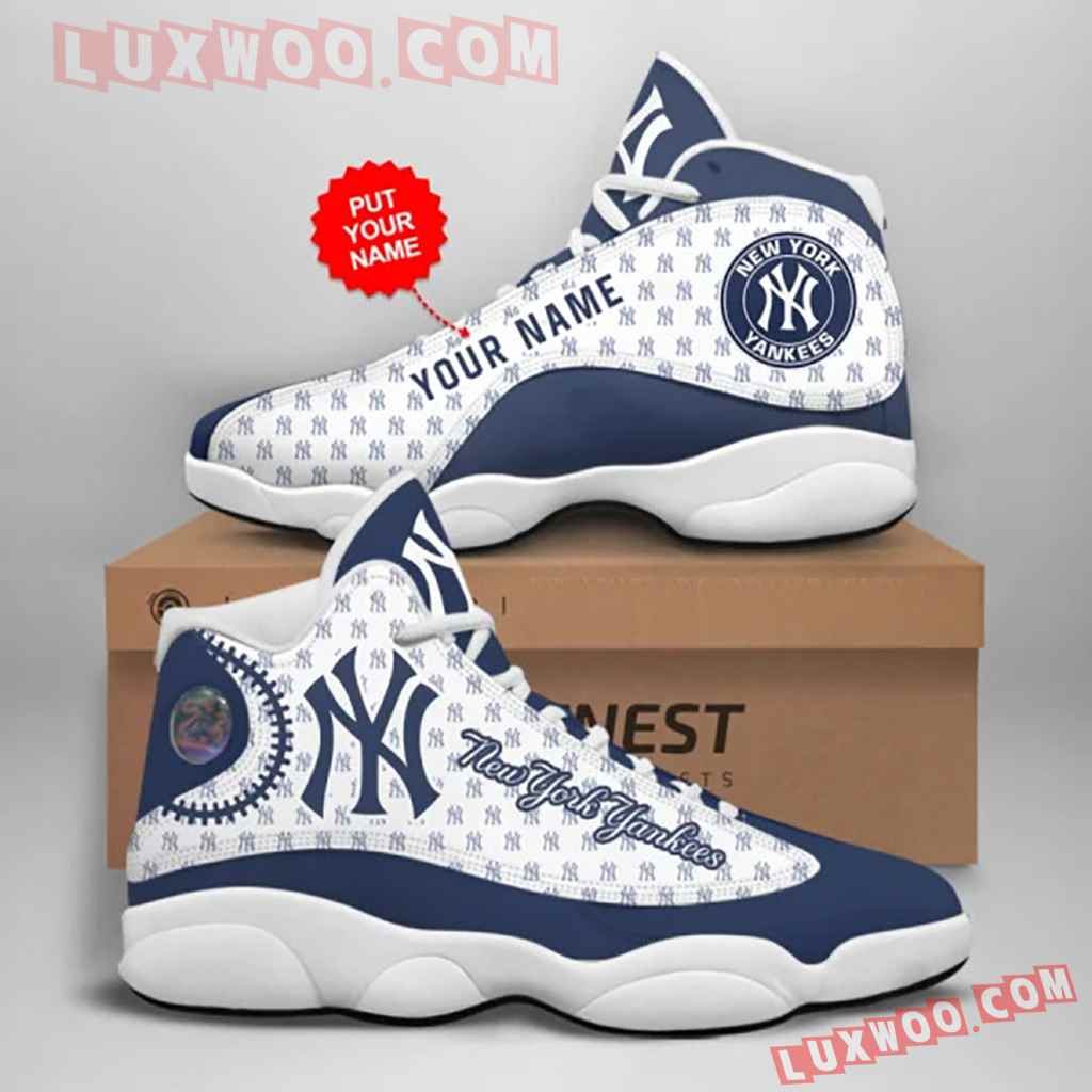 Mlb New York Yankees Air Jordan 13 Custom Shoes Sneaker V3 Personalized