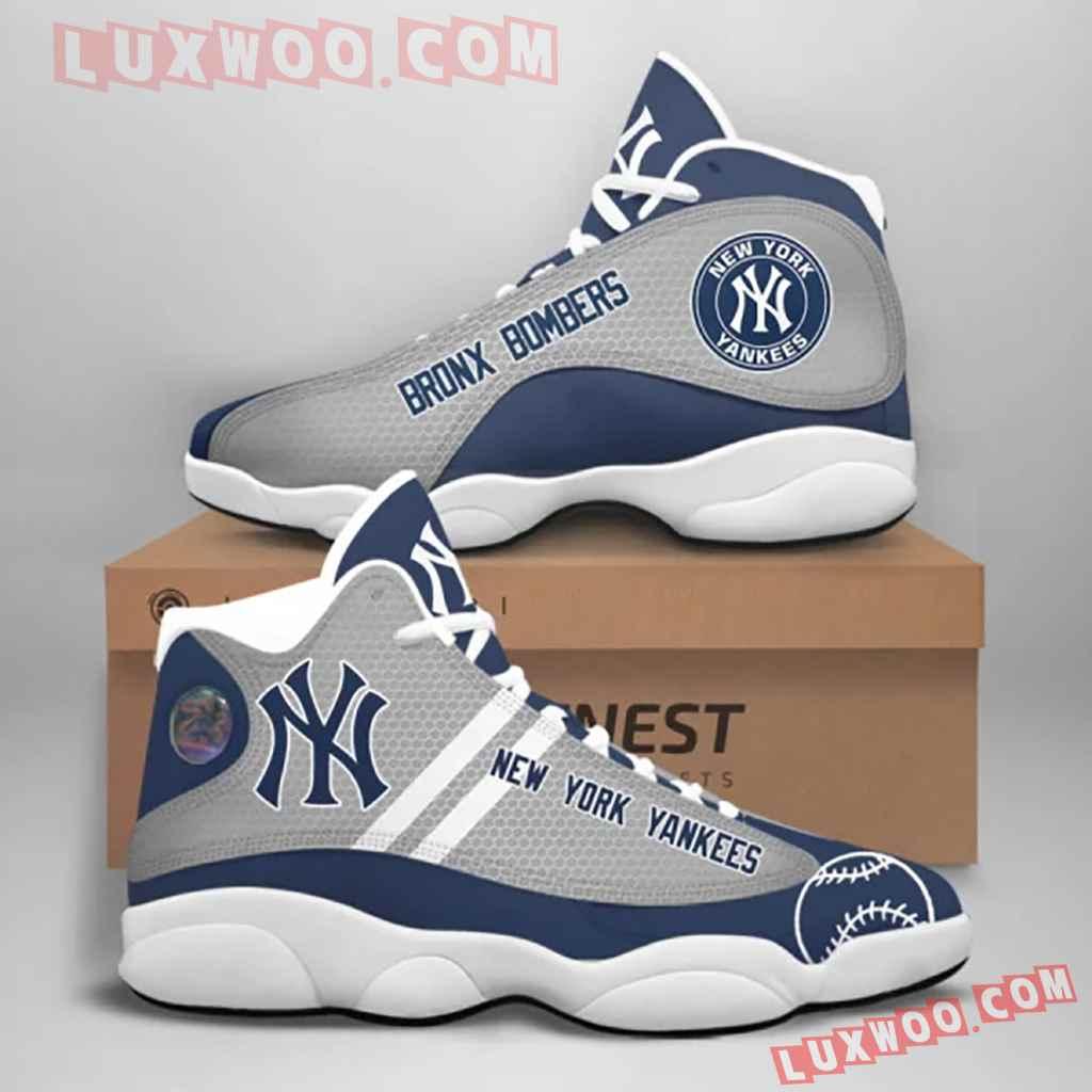 Mlb New York Yankees Air Jordan 13 Custom Shoes Sneaker V4 Personalized