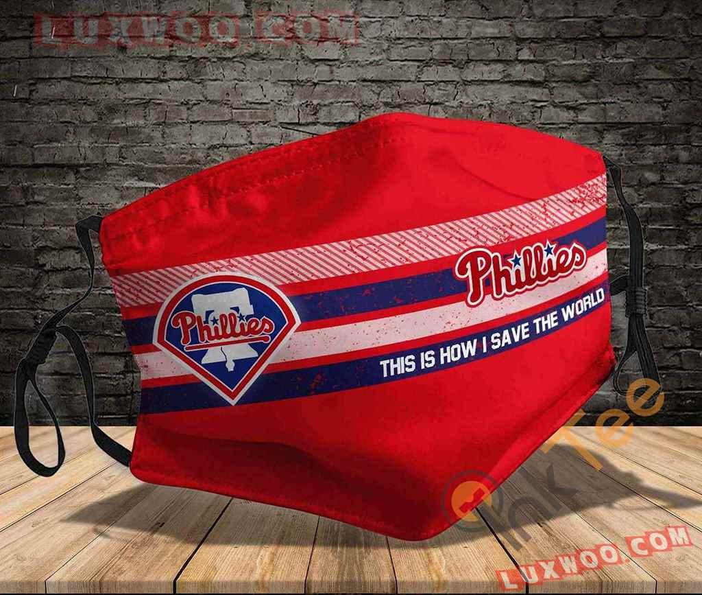 Mlb Philadelphia Phillies 3d Face Mask V1