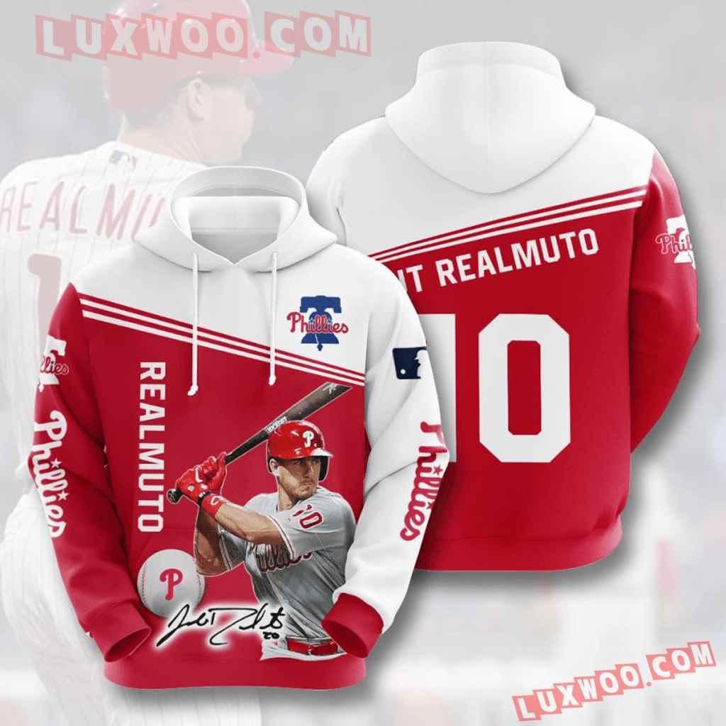 Mlb Philadelphia Phillies 3d Hoodies Printed Zip Hoodies Sweatshirt Jacket V8