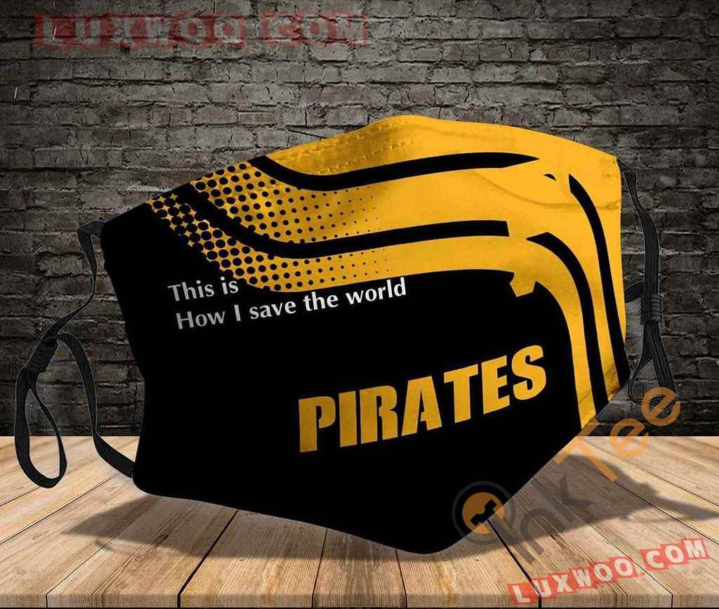 Mlb Pittsburgh Pirates 3d Face Mask V1
