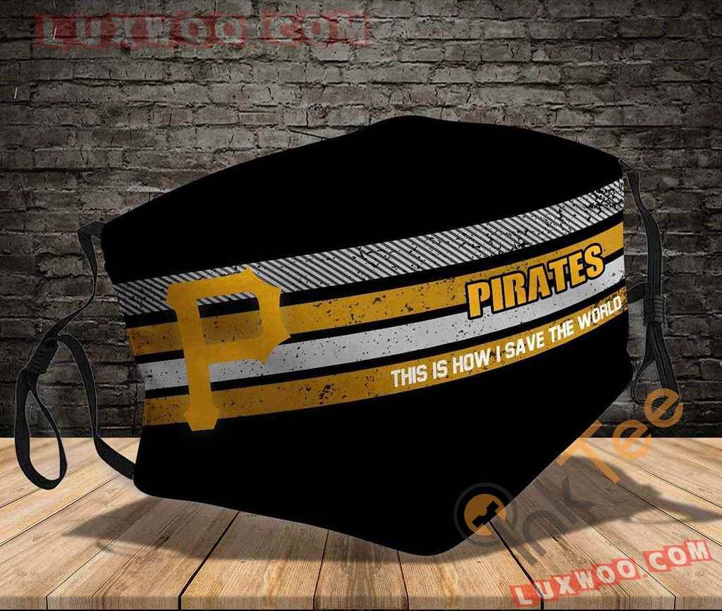 Mlb Pittsburgh Pirates 3d Face Mask V2