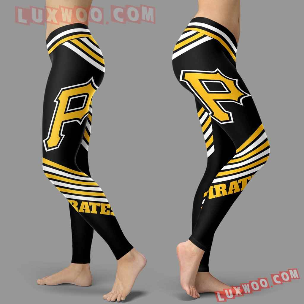 Mlb Pittsburgh Pirates Leggings 3d Custom Print Leggings Sport V2