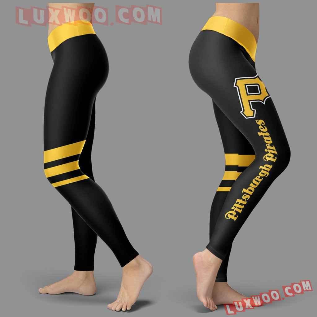 Mlb Pittsburgh Pirates Leggings 3d Custom Print Leggings Sport V3