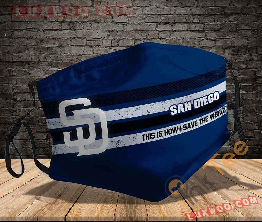 Mlb San Diego Padres 3d Face Mask V2