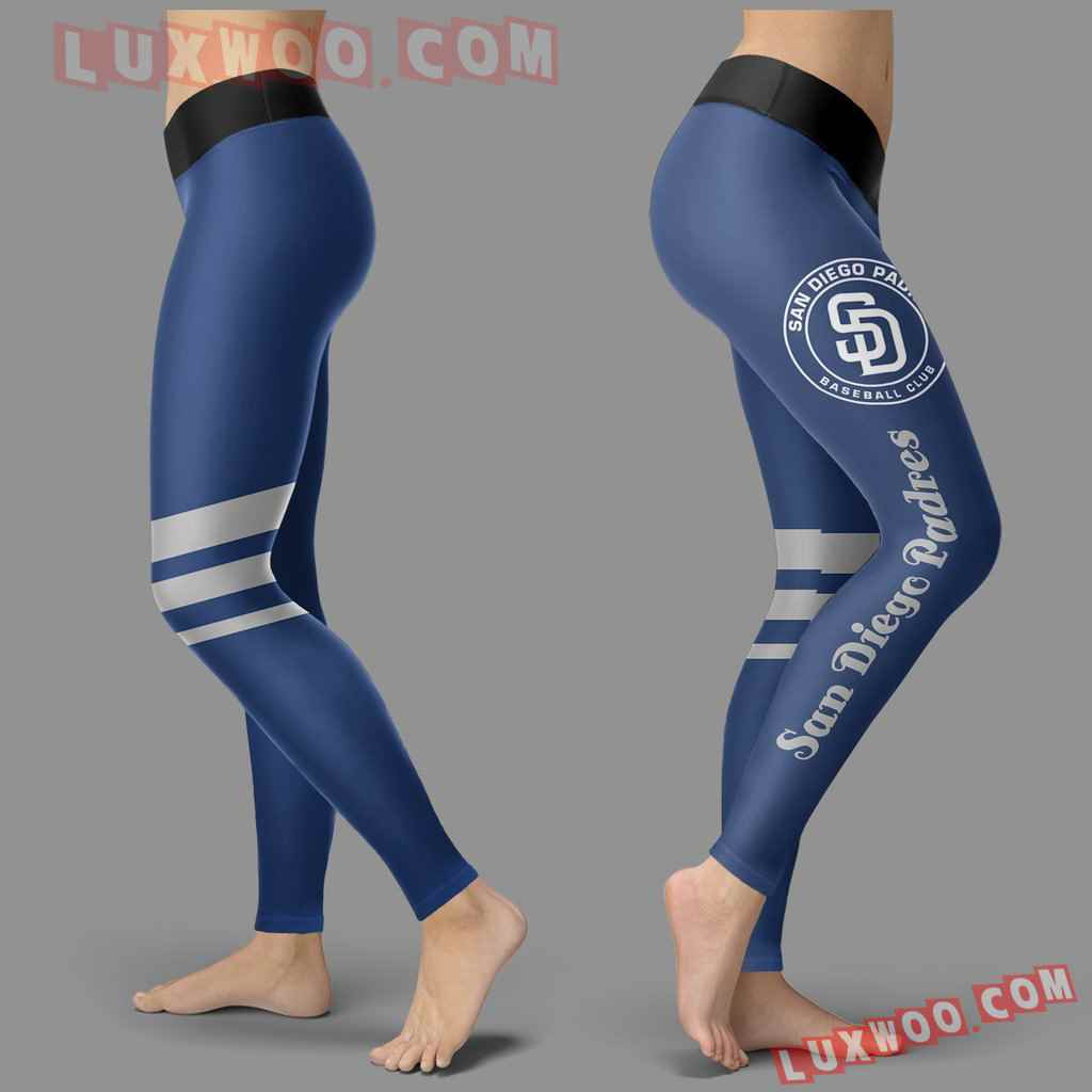 Mlb San Diego Padres Leggings 3d Custom Print Leggings Sport V3