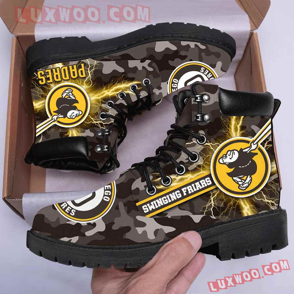 Mlb San Diego Padres Season Boots Shoes V1