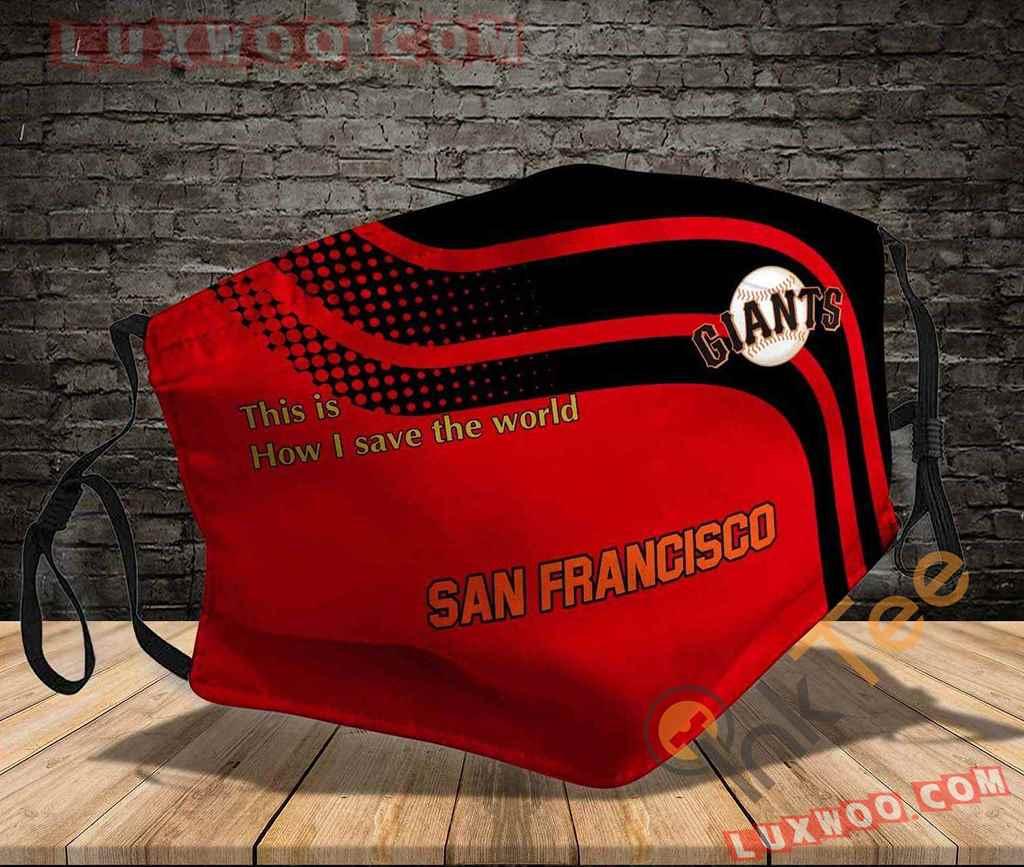 Mlb San Francisco Giants 3d Face Mask V1