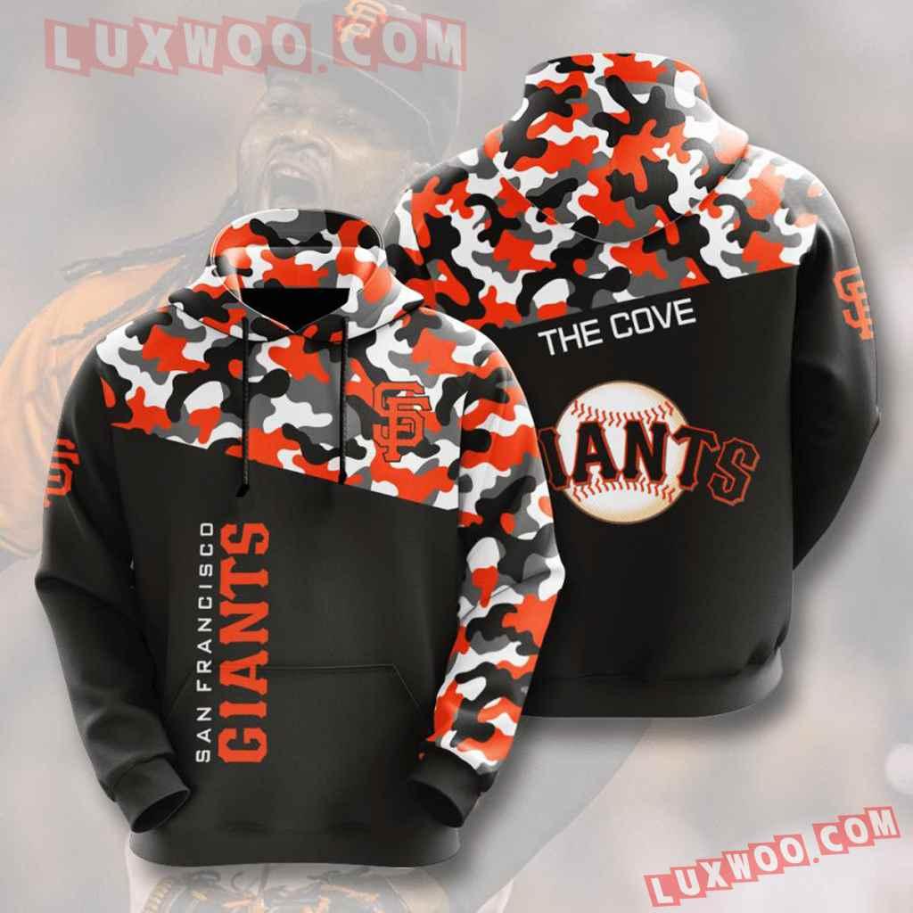 Mlb San Francisco Giants 3d Hoodies Printed Zip Hoodies Sweatshirt Jacket V1