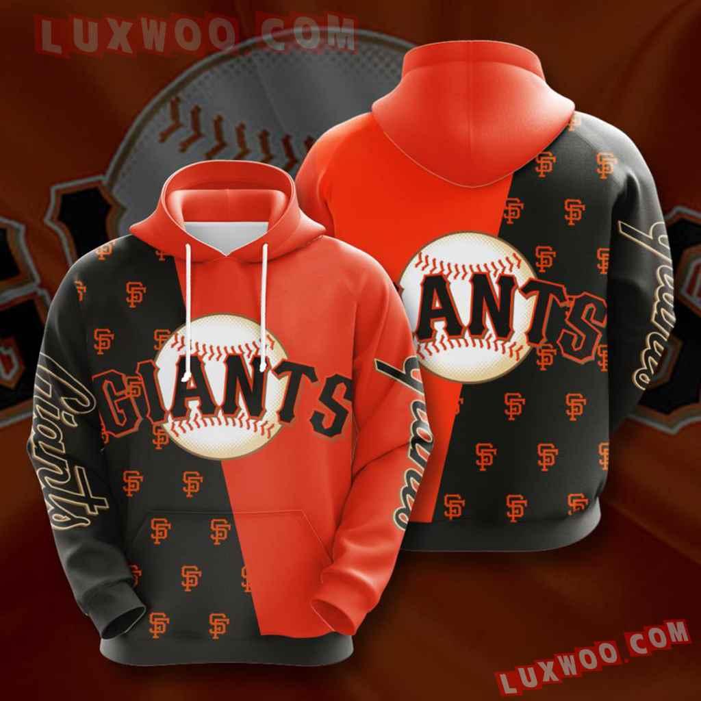 Mlb San Francisco Giants 3d Hoodies Printed Zip Hoodies Sweatshirt Jacket V10