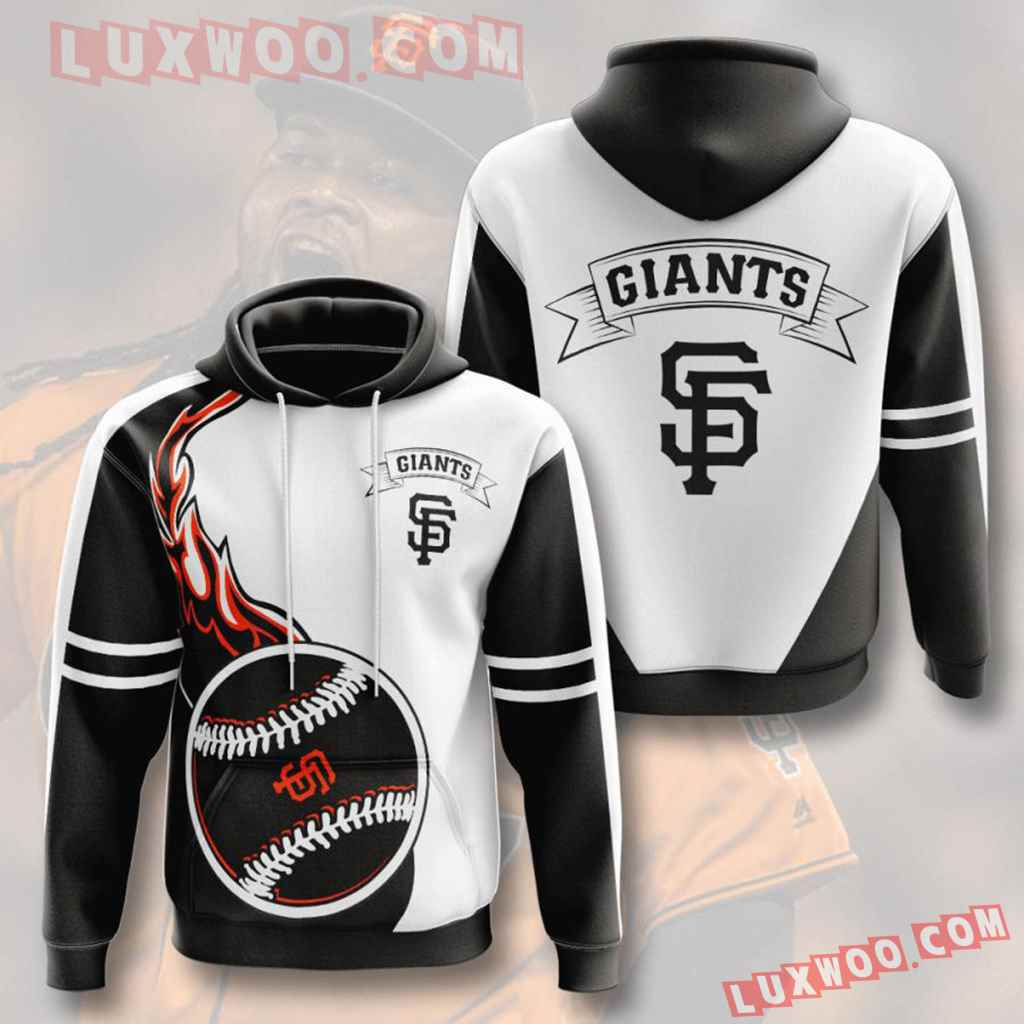 Mlb San Francisco Giants 3d Hoodies Printed Zip Hoodies Sweatshirt Jacket V4
