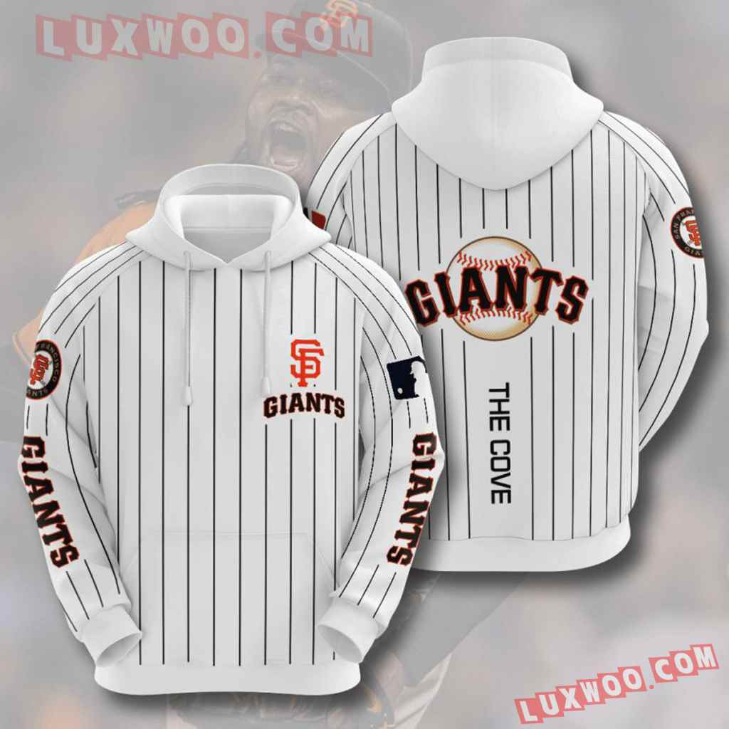 Mlb San Francisco Giants 3d Hoodies Printed Zip Hoodies Sweatshirt Jacket V5