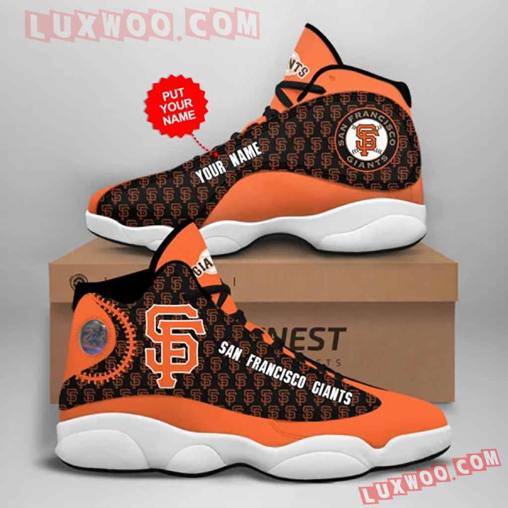 Mlb San Francisco Giants Air Jordan 13 Custom Shoes Sneaker V1 Personalized